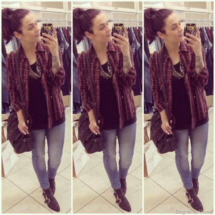 look jeans, bota e camisa de flanela (2)