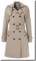 Kiomi Beige Trench Coat