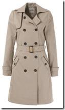 Kiomi Beige Trench Coat
