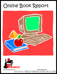 Free downloadable online book report project - give students the chance to present the important information from a book in multiple formats.