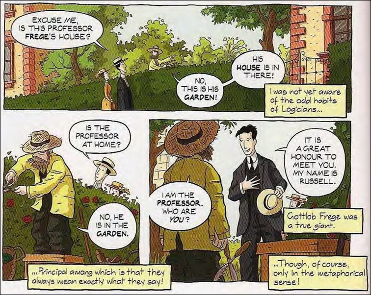 Hábitos dos lógicos - Frege e Russell
