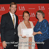 Scholarship Awards Ceremony Fall 2014