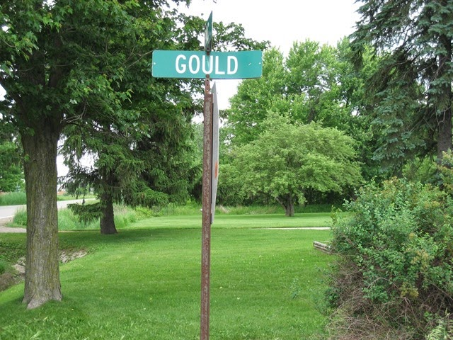 GOULD street sign