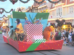 Disney trip movers shakers parade Balou Bear