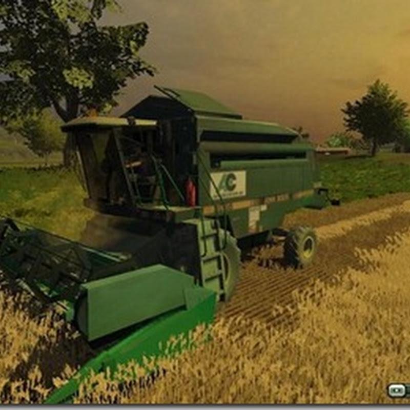 Farming simulator 2013 - John Deere 2056 + Header