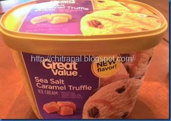Chitra Pal Haagen Daz Dupe Sea Salt Caramel Truffle