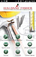 Screenshot of Haldane Fisher / HF Trade App