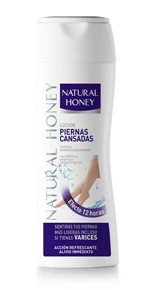 locion piernas cansadas natural honey