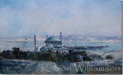 9 'Suleymaniye Mosque at Istanbul' 18x24