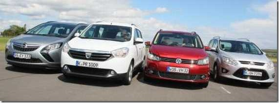 Dacia Lodgy Multitest 14