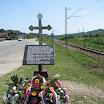 Сводна код Новог Града, 5.8.2012., спомен плоча након освештања и полагања вијенаца.