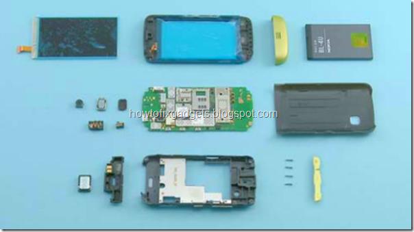 от Нокии по разборке Nokia