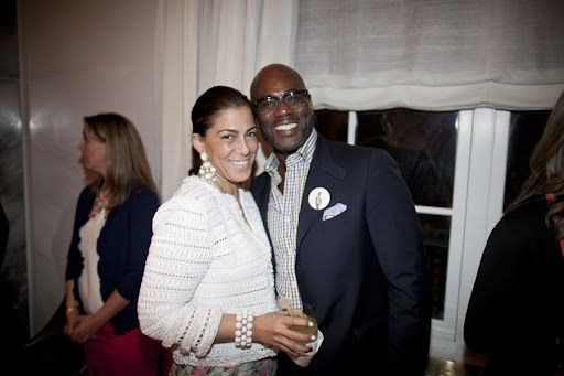 Shanna Chaityn of Oscar de la Renta Bridal and Marc Wilson