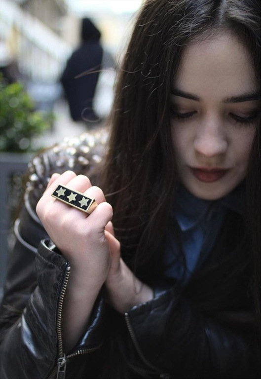 Star Duster Ring, £18, Ease the Squeeze