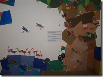 Rainforest Classroom Display with the Congo River