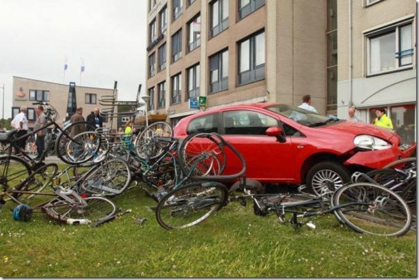 Imagens do trãnsito na Holanda (1)