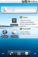 Screenshot of NextAction