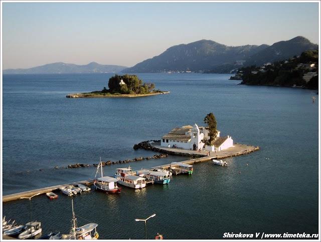 Корфу. Греция. www.timeteka.ru