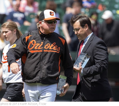 'Buck Showalter, Dan Duquette' photo (c) 2013, Keith Allison - license: http://creativecommons.org/licenses/by-sa/2.0/