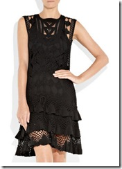 DvF crochet dress