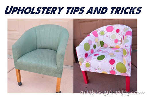 how to upholster a metal chair 2