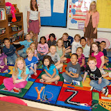WBFJ Cici's Pizza Pledge - Morgan Elementary - Miss Hines' Kindergarten Class - 3-14-12