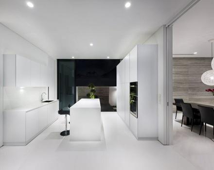 cocina-moderna-isla-de-cocina-blanca