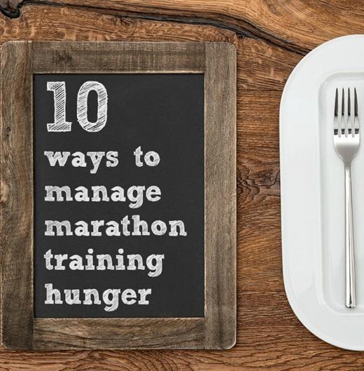 Manage Marathon Training Hunger