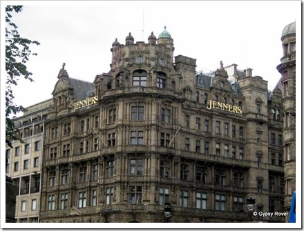 Edinburghs answer to Harrods. Still a family business.