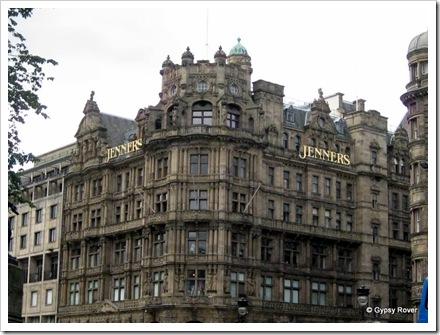 Edinburghs answer to Harrods. Still a family business.
