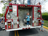 At the Spring-Mar Touch-A-Truck event. (April)