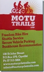 Motu Trails Card