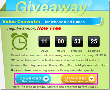 iPhone Video Converter download per Mac e Windows