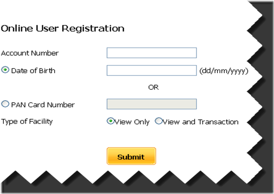 On-line Registration for PNB Internet Banking