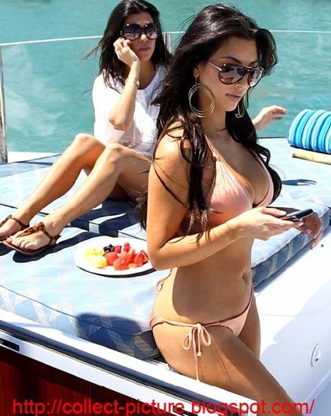 kim kardashian bikini hot picture