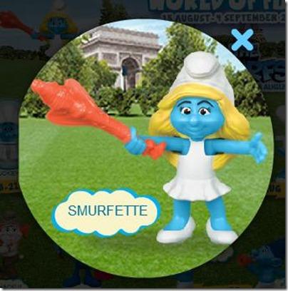 Smurf 2 X Happy Meal - Smurfette
