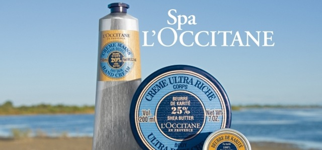 banner spa loccitane