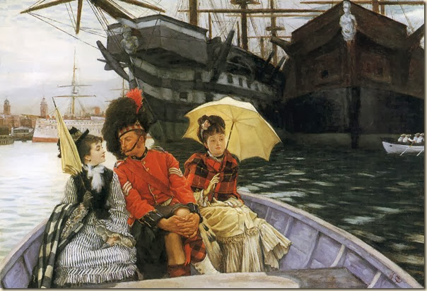 James Tissot, Le port de Portsmouth