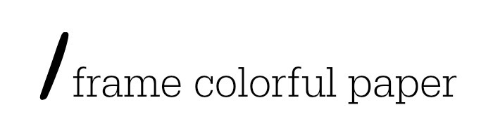 colorframepaper