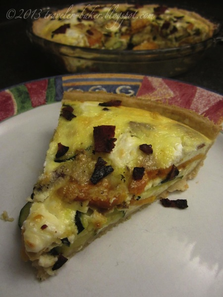 Quiche Patate Dolci e Caprino 3