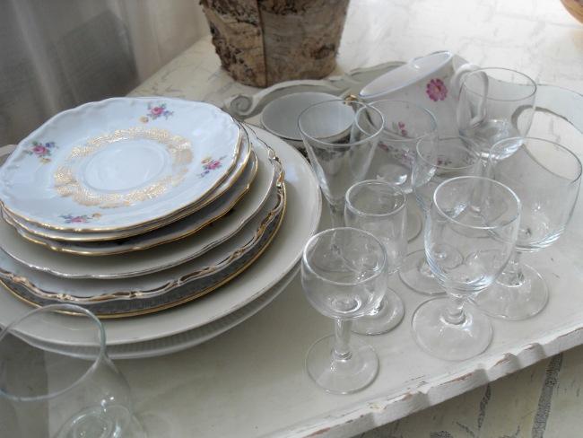 Glas og porcelæn
