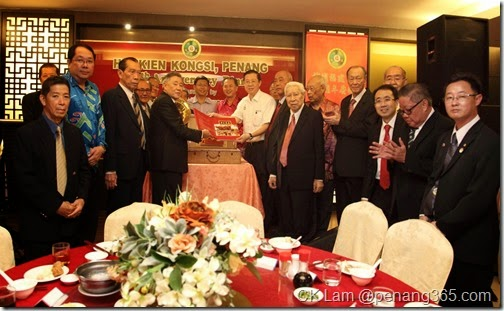 The launching of the book on Hokkien Kongsi, Penang