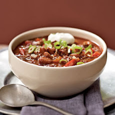 Chili with Chipotle and Chocolate