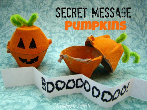 secret message pumpkins 1