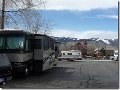 Nugget casino parking lot stayed 3 nights