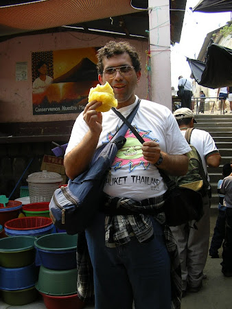 Guatemala food: Pina!