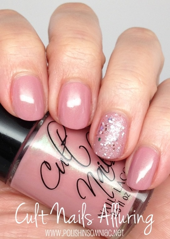 polish insomniac: Cult Nails Alluring + Nicole by OPI Shaved Nice