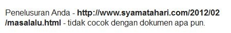 blogspot custom domain tidak diindeks google --