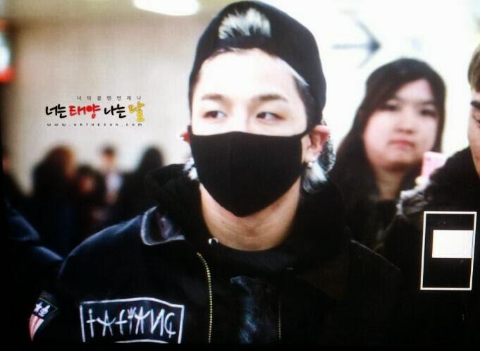 Big Bang - Gimpo Airport - 18nov2013 - Tae Yang - Fan - Urthesun - 01.jpg