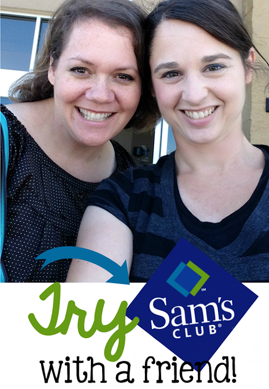 Try Sam's Club with a Friend #trySamsClub #cbias #shop